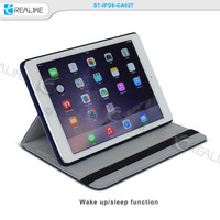Fashion stand cover both side using detachable tablet case for ipad air 2