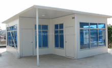 movable foldable prefabricated house