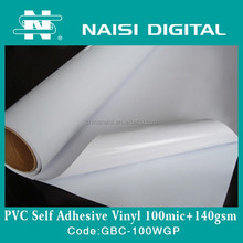 clear adhesive pvc self adhesive vinyl for cutting plotter