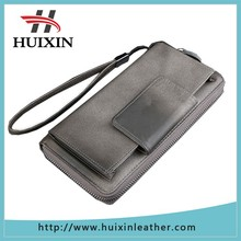 Formal genuine leather business men clutch office men long wallet