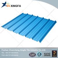 2015 corrosion prevention blue PVC resin roof tile