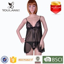 Clear Lace Black Hot Sexy Mature Young Ladies Open Sexy Women Mature Transparent Lingerie