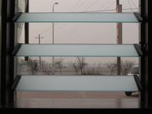 4mm 5mm 6mm esmerilado de vidrio persiana