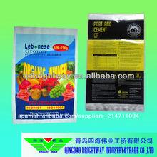 china 50kg cemento bolsa de fabricación