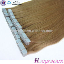 Hair Factory Wholesale Top Quality Tape Hair Extensions 100% Human Hair
