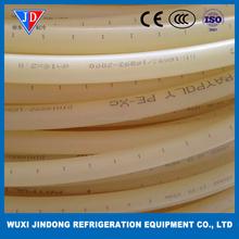 PE-XC underfloor heating pipe, primary color floor heating cable DN25*2.3mm