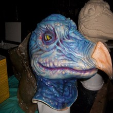 RJ-017 Yiwu Caddy Trustworthy animal Party save 20% Inspiration design mask,Skeksi Inspired Halloween Mask