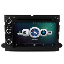 Android 4.4 3g wifi quad-core HD car gps DVD navigation FM AM bluetooth usb sd ipod for FORD Explorer/Fusion