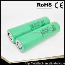 High quality Samsung 25r 18650 Samsung Icr18650 25r 2400mah/18650 Battery