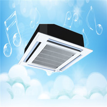 High Efficiency Top Quality Ventilation 4 or 2 Way Ceiling Cassette Fan Coil Unit for Air Conditioning in Heating or Cooling