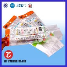 custom hot seal opp/cpp plastic bags film plastic bag for dry food 300g