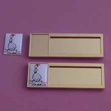 paper inserting name badge, gold blank name badge with logo printing, reuse name plate