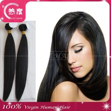 100% natural silky straight wave brazilian hair virgin hair extension wholesale combing hair weaving