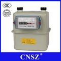Caja de acero del hogar medidor de gas de diafragma