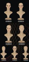 High Quality store decorative mannequin head