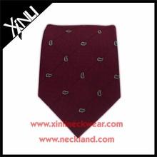 Mens Fashion Jacquard Woven Private Label Fine Silk Ties