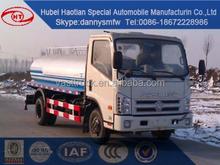 Nuevo camión de agua FORLAND mini agua camión cisterna camión pequeño rociadores de agua camión venta