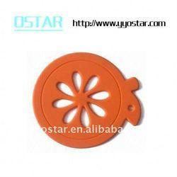 precision natural rubber component
