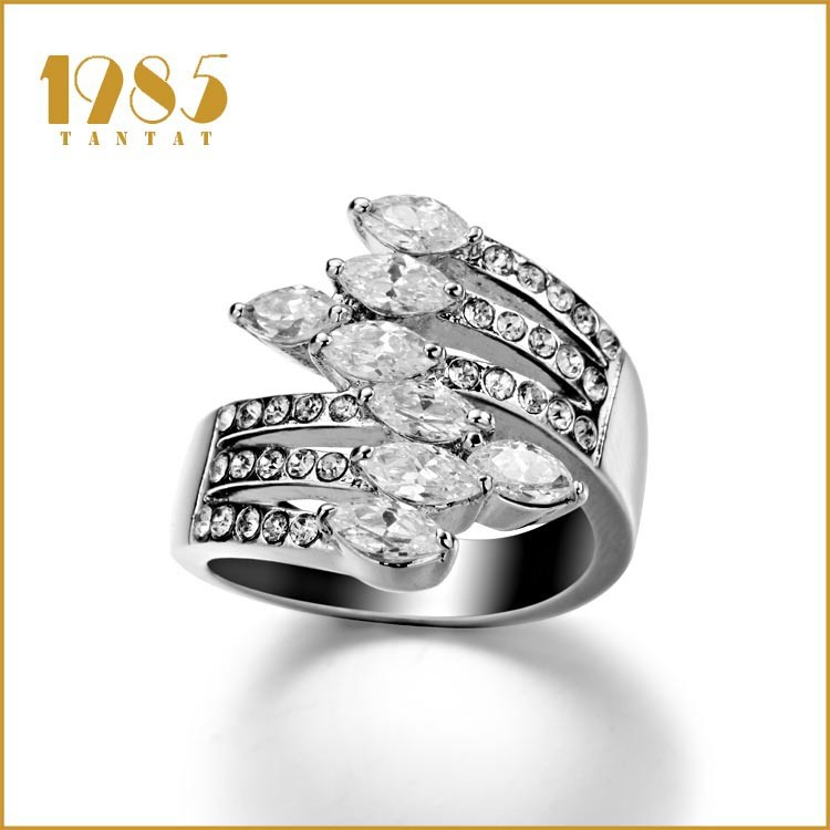 Hot Sale Fashion Cheap Wedding Ring For Girls