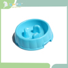 High quality puppy dog plastic slow feed pet bowl