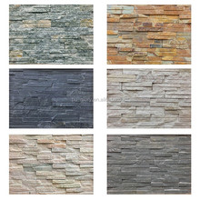 Interior & Exterior Wall Tile Decorations Artificial PU Brick Culture Stone Panel For Wall Cladding
