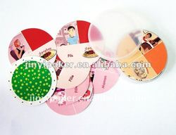 Paper memory game cards/ 7 familles playing cards