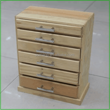Good Quality And Cheap Customized Wooden Tea Chest With Drawers