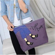 2015 new fashion Canvas shopping bag