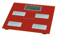 150kg Digital body analysis scale storage 10 persons date with simultaneous LCD display 100g