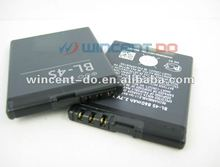 Low price mobile phone battery for Nokia BL-4S 2680s/ 3600s/ 3602S/ 6202c/ 6208c
