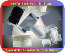 Injection Molded Impact Resistant Plastic / Impact Resisting Polycarbonate Component / High Impact PA PC Plastic