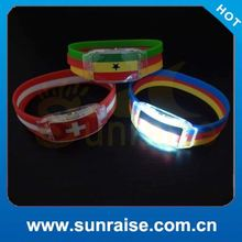 led motion activated wristband
