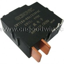 Magnetic contactor relay