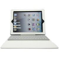 Hot Selling Bluetooth Silicone Keyboard 2in1 Flip Stand Waterproof Tablet PU Case for Apple iPad 2 3 4(nine color)