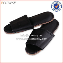 disposable beach walk for men leather hotel slipper