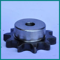 1045 steel standard industrial chain sprocket with bush for mini green bean harvester