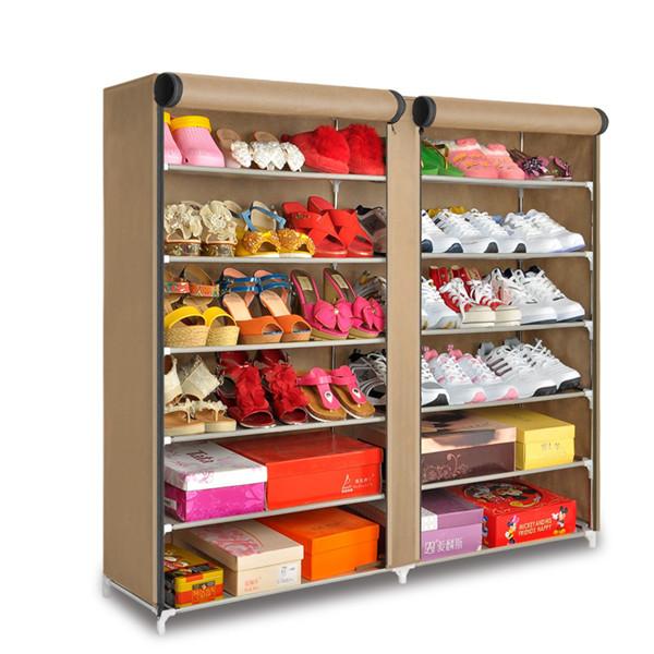 Tiers 6 2 porta sapatos de armazenamento organizador de - Organizadores de armarios ikea ...