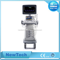 NewTech medical equipment color doppler 3D/4D ultrasound machine with trolley