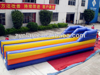 2013 New Designed Inflatable Bungee Run Mat for Games
