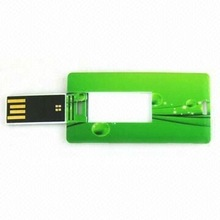 Fashionable Gift card usb flash memory,OEM Orders are Welcome