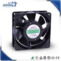 high air flow 230V compact axial fan motor 120x120x38mm