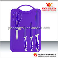 ceramic coating stainless steel knife set