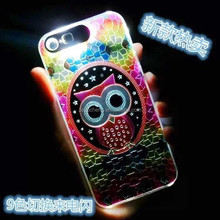 glow in the dark embossed back cover phone case