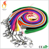 Colorful ego lanyard ring for ego vape