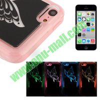 Sense Flash Colors Changing LED Case Cover for iPhone 5C