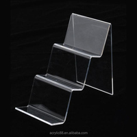 custom design countertop acrylic book store shelves/shop display book racks/book store furniture