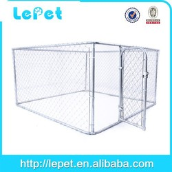 Hot selling professional outdoor cheap dog cage of large