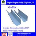 Fábrica del producto principal PVC canalones, Pvc bajantes, Lluvia canalones