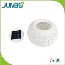Newest hot sale solar ceramic lighting gift