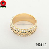 Wedding ring jewelry factory produce custom fashionable jewelry band rings